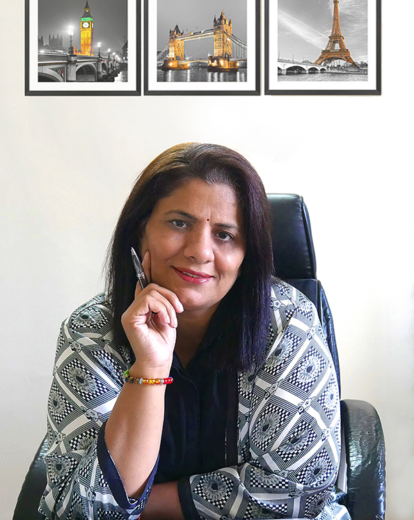 Hema Aushat- Argus CMPO Founder